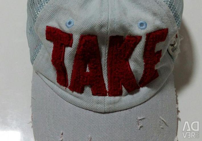 Baseball cap available.