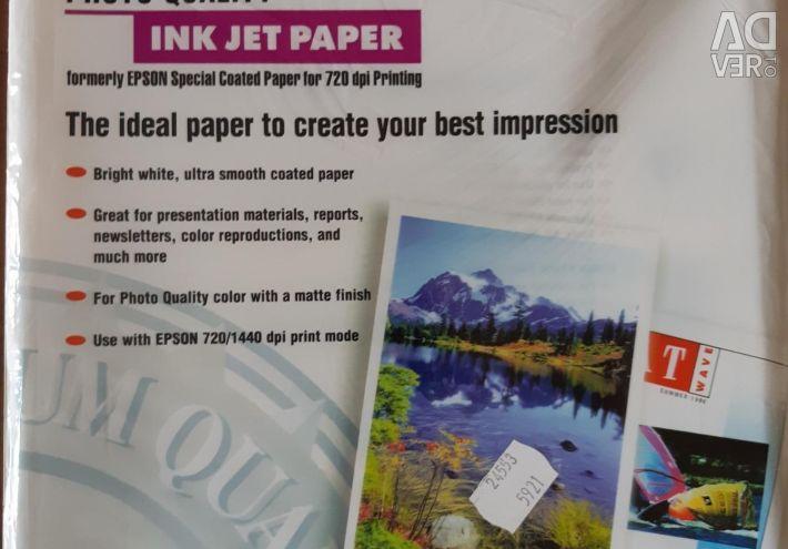EPSON INK JET PAPER Photo Paper