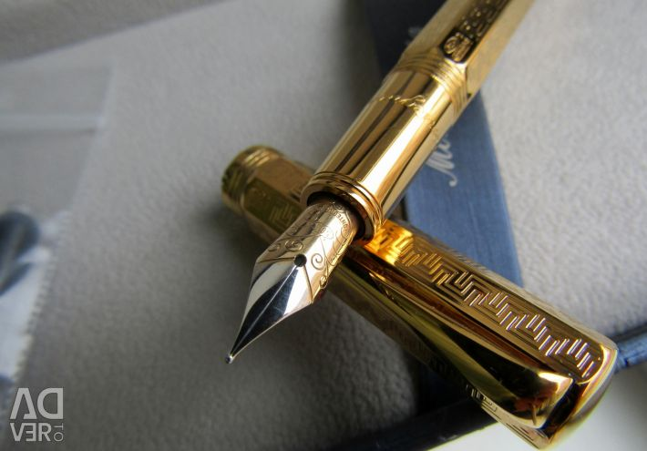 Пір'яна Montegrappa Reminiscence золоте перо 18к