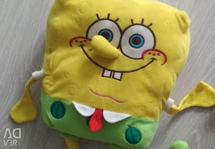 Спанч Боб подушка игрушка