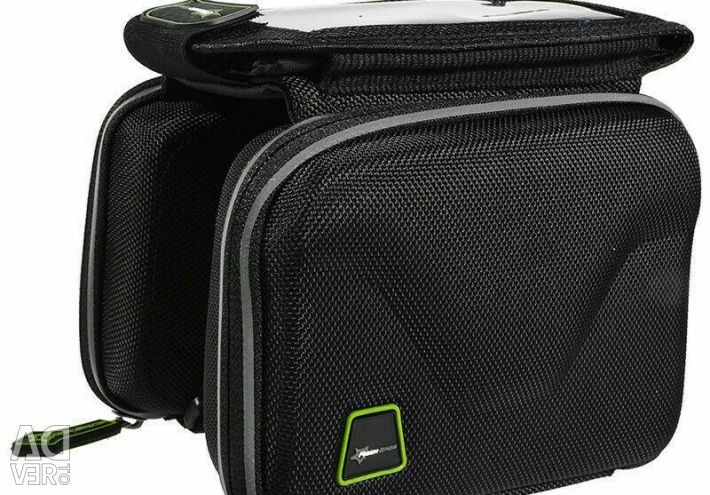Branded tight bike bag for a phone up to 6