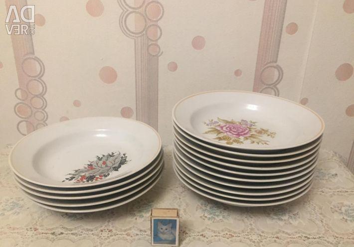 Διαφορετικά πιάτα