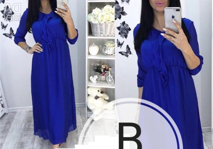 Dress a new choice of blue or black 44р
