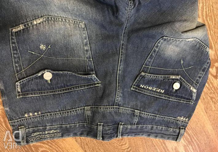Чоловічі джинси нові reebok
