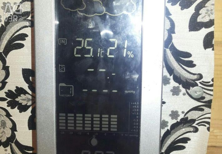 Weather thermometer meteoLight