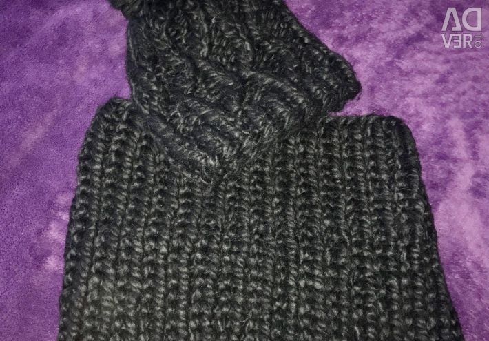 Χειμερινό καπέλο + φουστάνι (κασκόλ) νέο