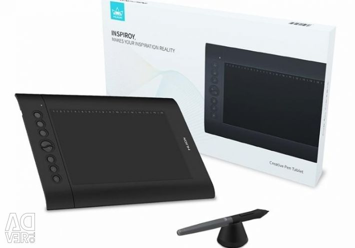 Graphics tablet Huion h610 pro v2 8192 levels