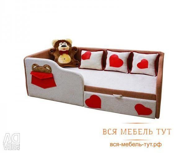 Тед диван дитячий лівий