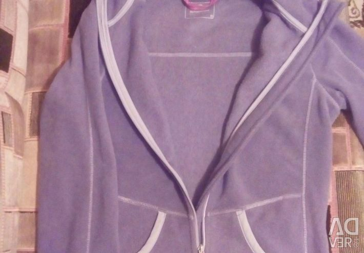 Sweatshirt Sporty hoodie with zipper