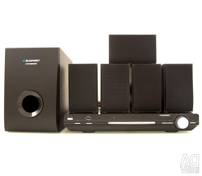 Blaupunkt HCDVD5 5 1 DVD Home Cinema System, city Limassol - Advert to  sell, price 99 EUR, Posted: 18 08 2019