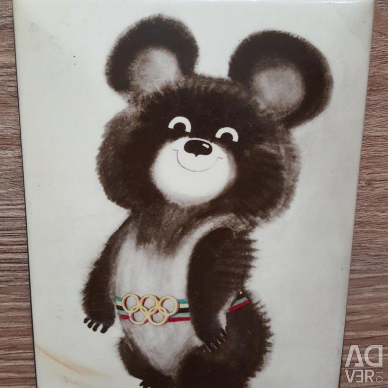 пластике картинка олимпийского мишку примера разберём