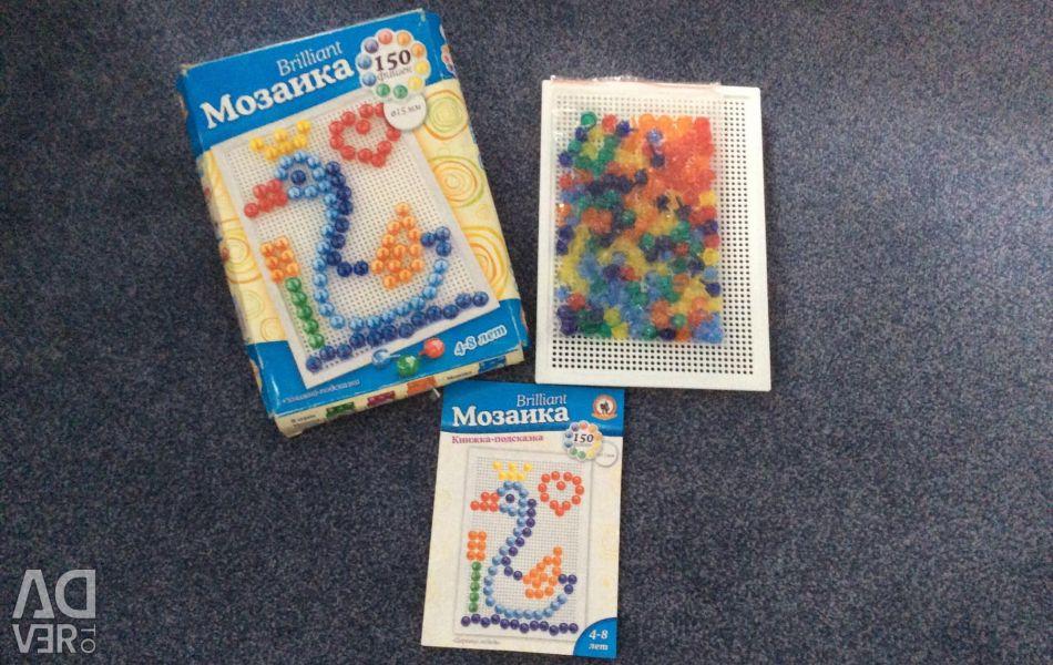 Λαμπρό παιχνίδι μωσαϊκό για την ανάπτυξη των παιδιών