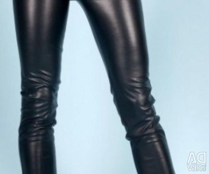 Pants (artificial leather)