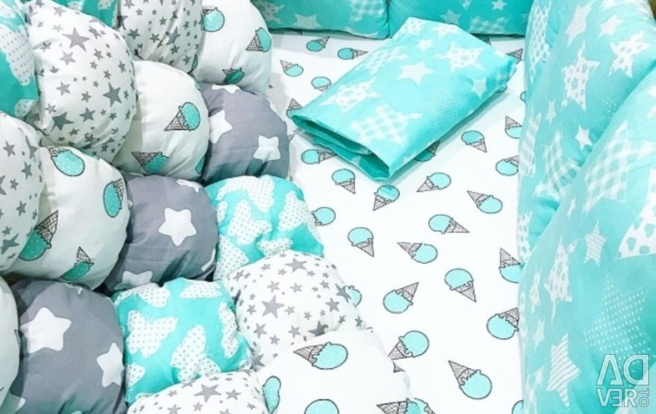 Bonbon blanket sides