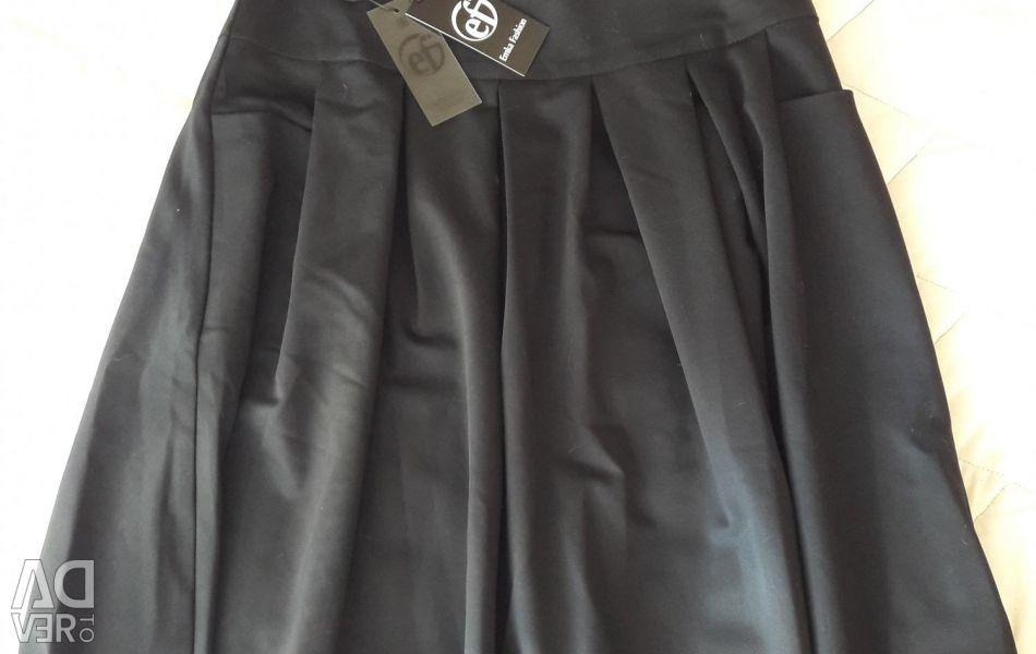 Φούστα σκούρο μπλε νέο 46r-r
