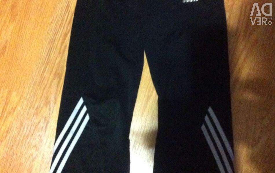 Παντελόνι Adidas, που χρησιμοποιείται, σε αγόρι 5-6 ετών, ύψος 115.