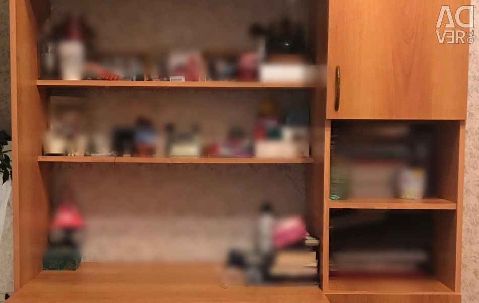 Cabinet Wall with table