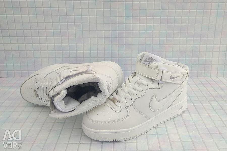 Adidași de iarnă high new Nike air forse 2