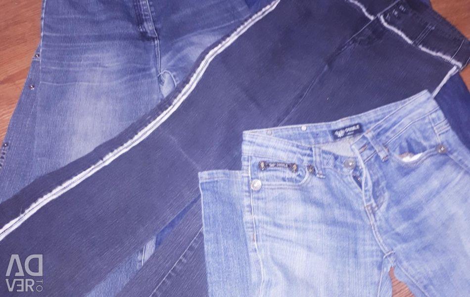 Jeans for women. 6pcs 40-42-44r.