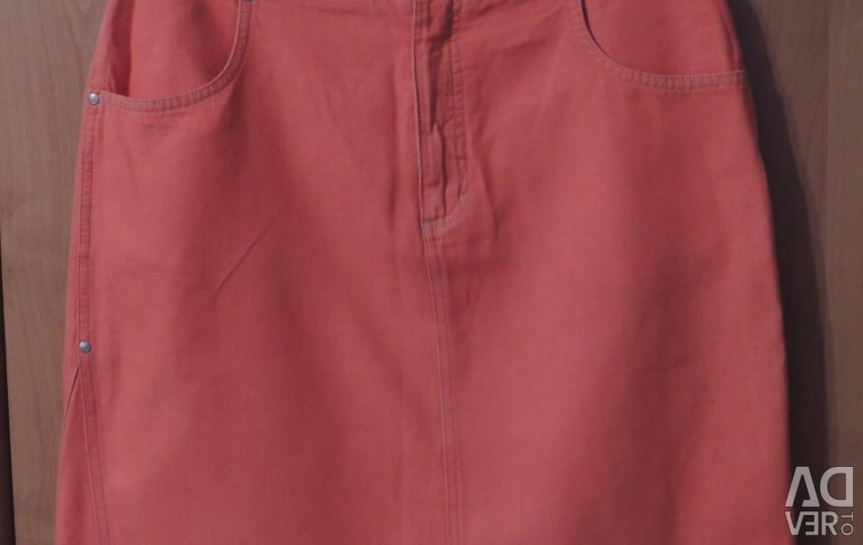 Cotton-colored skirt Esprit