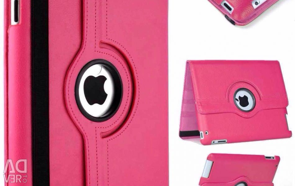 Swivel Case for iPad 2017 (Pro) Pink