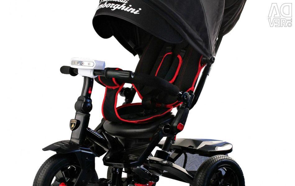 New Lamborghini L5 bicycle tricycle black