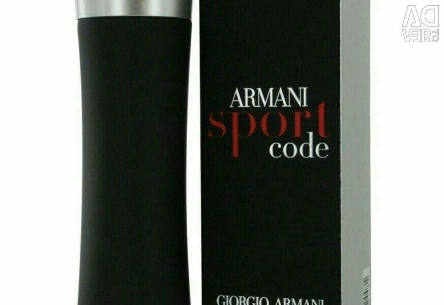 Erkekler için IorGiorgio Armani Armani Kod Sport