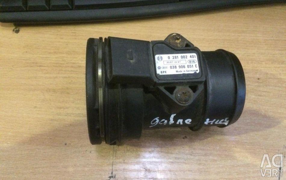 Ροόμετρο αέρα T5 2.5 TDI 038906051C