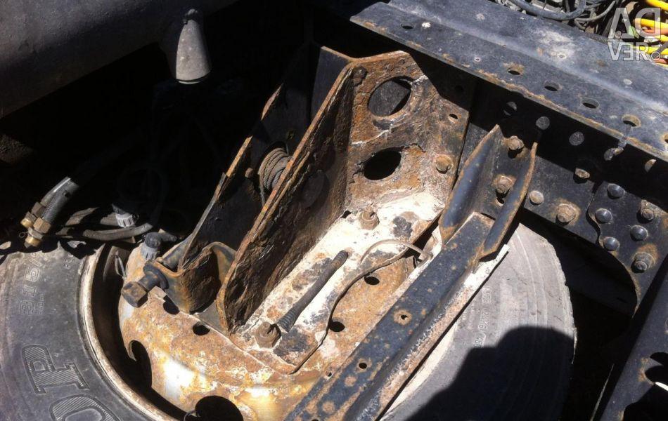 MAN TGA spare wheel mounting bracket (man)