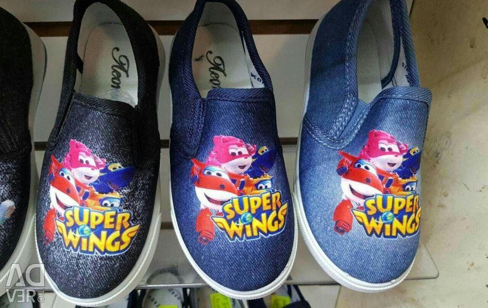 Children's ballet shoes