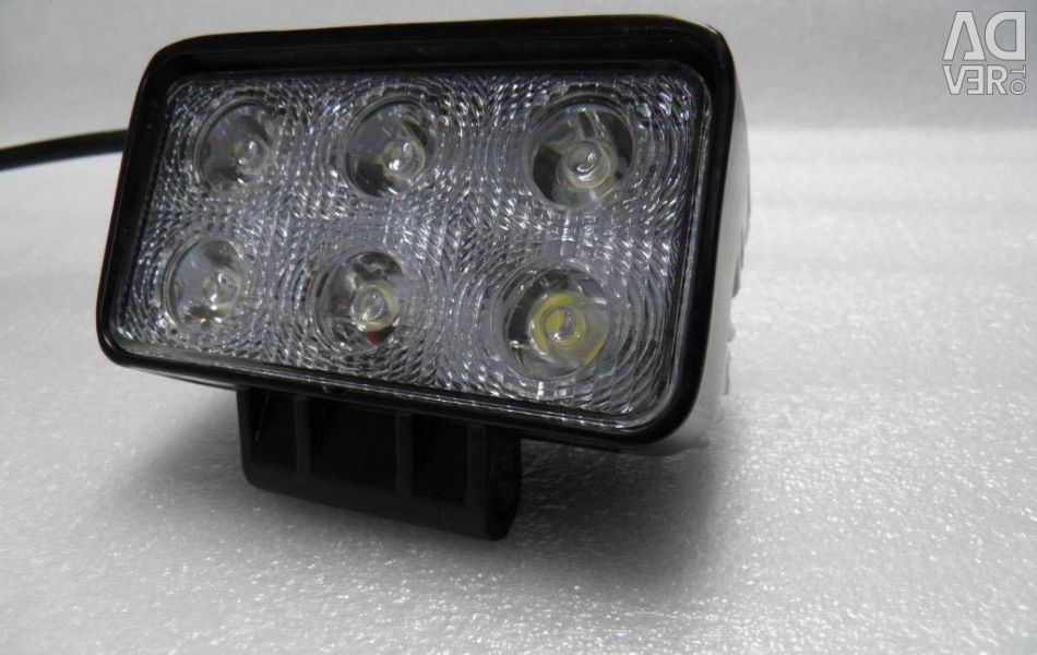 Προβολέας LED 1011-18w 6 δίοδοι πλημμύρας / spot