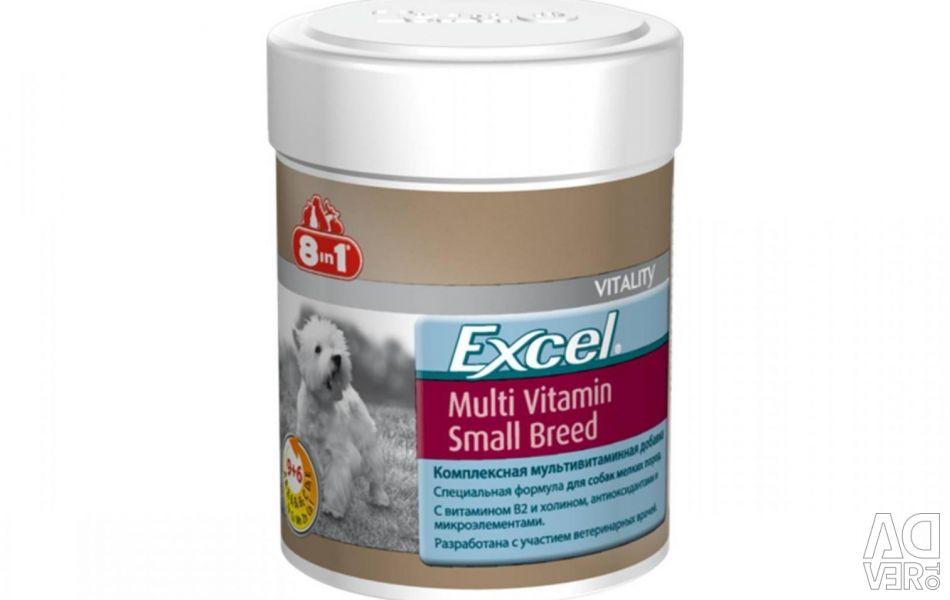 8in1 Excel Multi Vitamin для мелких пород