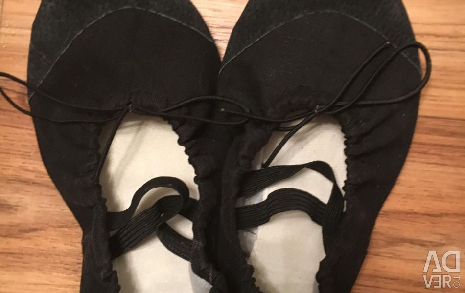 Selling ballet shoes