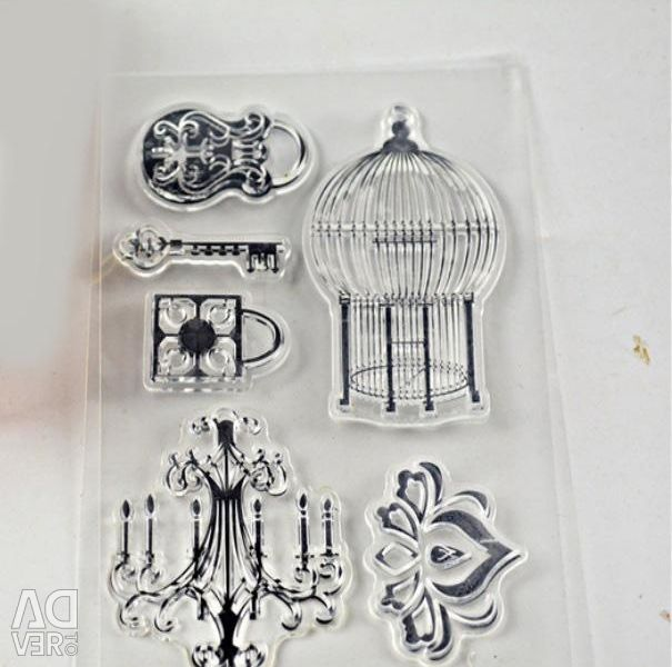 Silicone stamp 11 * 16 cm