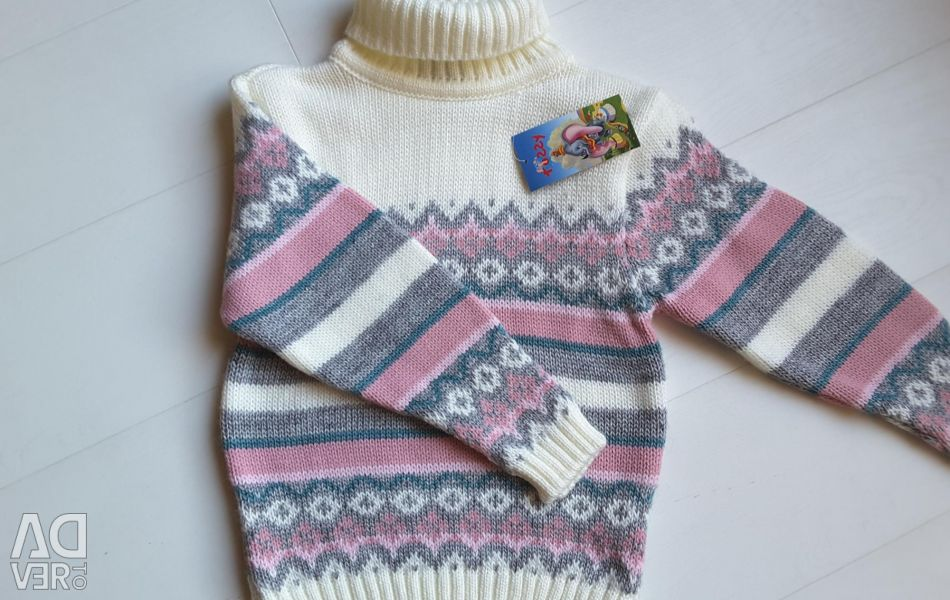 Tossy sweater to 110 growth. New.