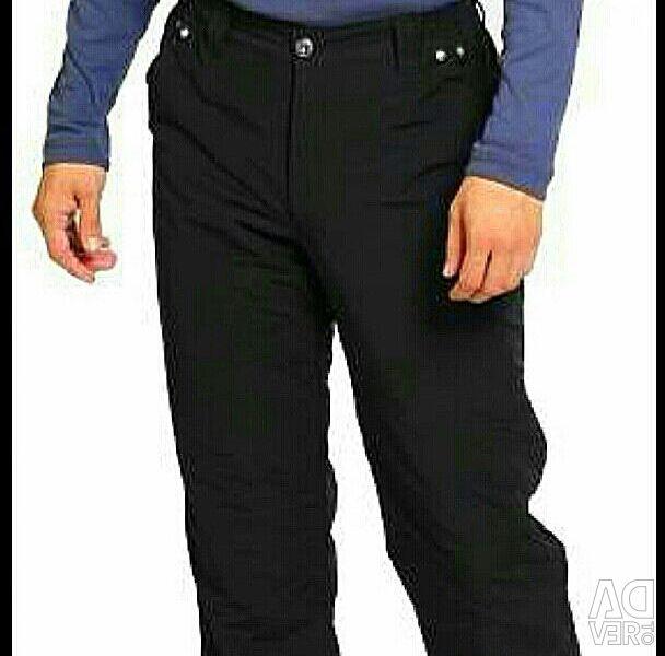 Yünlü kışlık pantolon. 56 ovmak