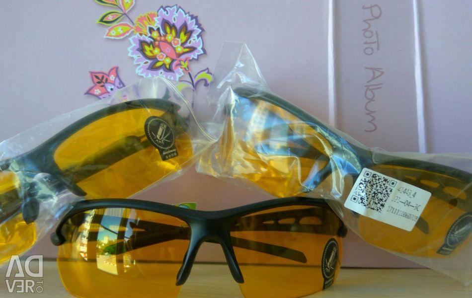 Автомобільні окуляри для гостроти зору