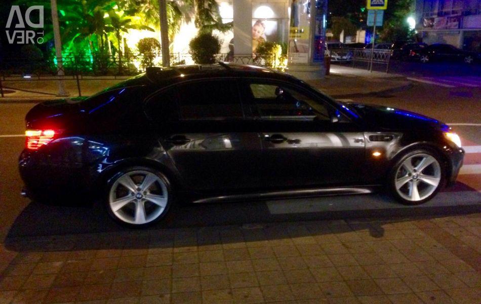 BMW E60 550 parsed