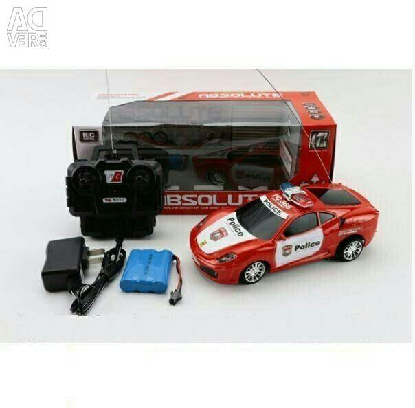 Αυτοκίνητο r / y της αστυνομίας της Ferrari
