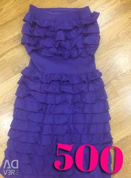 Макаронное платье