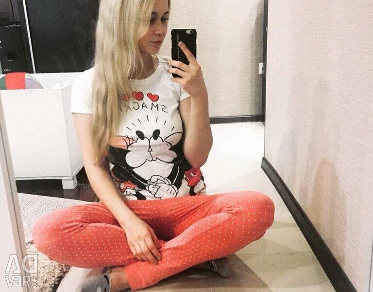 Pants and T-shirt