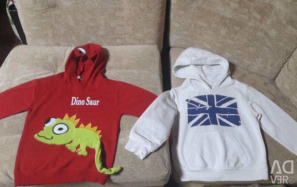 Company sweatshirts