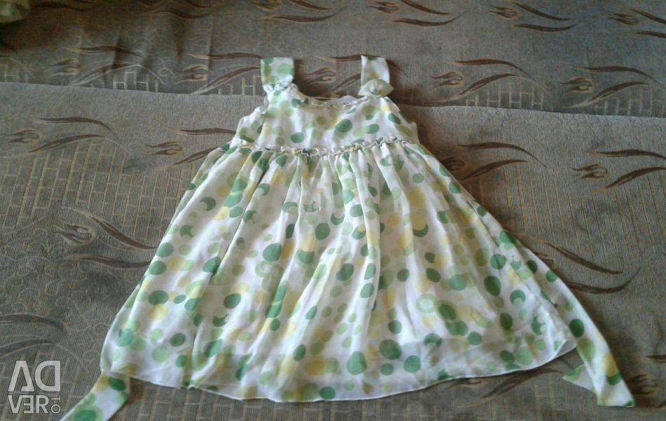 Летнее платье на 7-8 лет