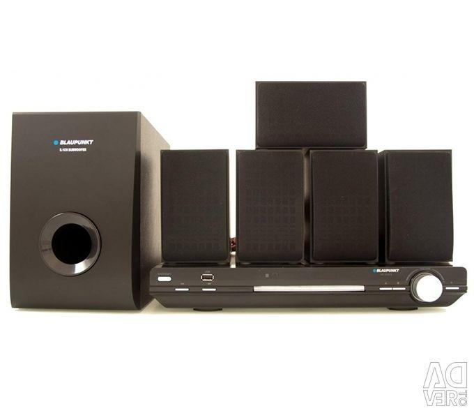Σύστημα οικιακού κινηματογράφου Blaupunkt HCDVD5 5.1