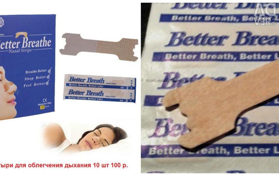 Breath improvement stickers