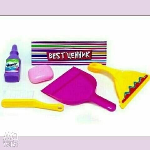Children's cleaning kit