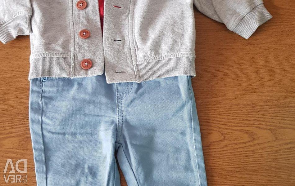 Set bodysuit pants and jumper