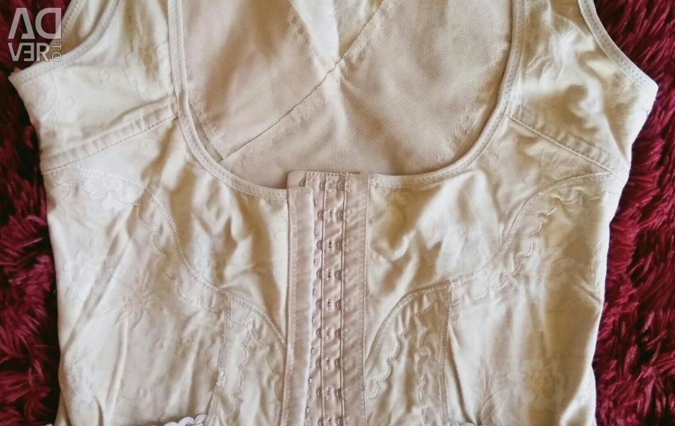 Slimming tricou cu corset