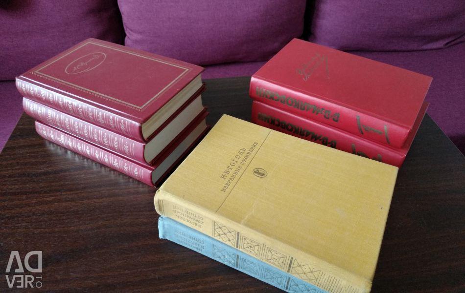 Pushkin, Mayakovsky, Gogol