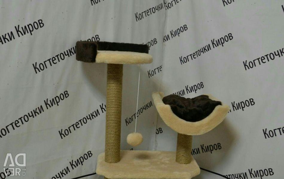 Συγκρότημα παιχνιδιών για γάτες
